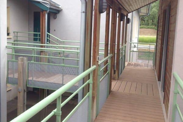 Escalier avec Plateforme à Vetraz-Montoux